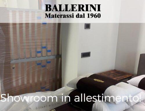Showroom Ballerini materassi – lavori in corso