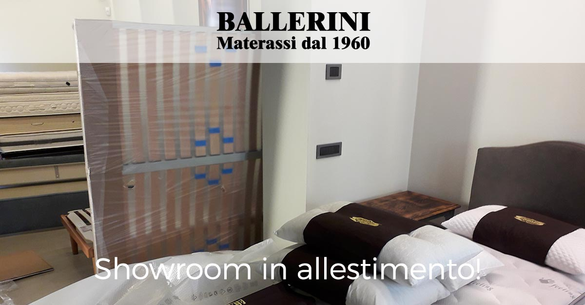 showroom in allestimento