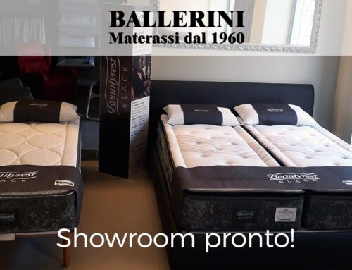 Showroom Ballerini Materassi pronto!